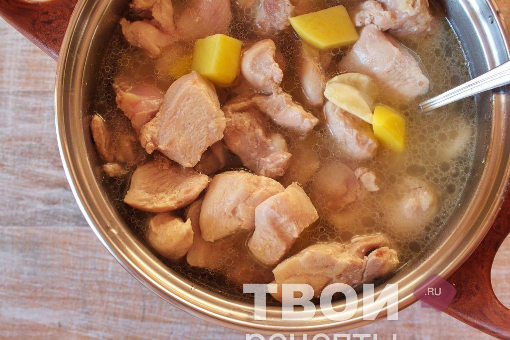 Как приготовить гуляш из курицы рецепты