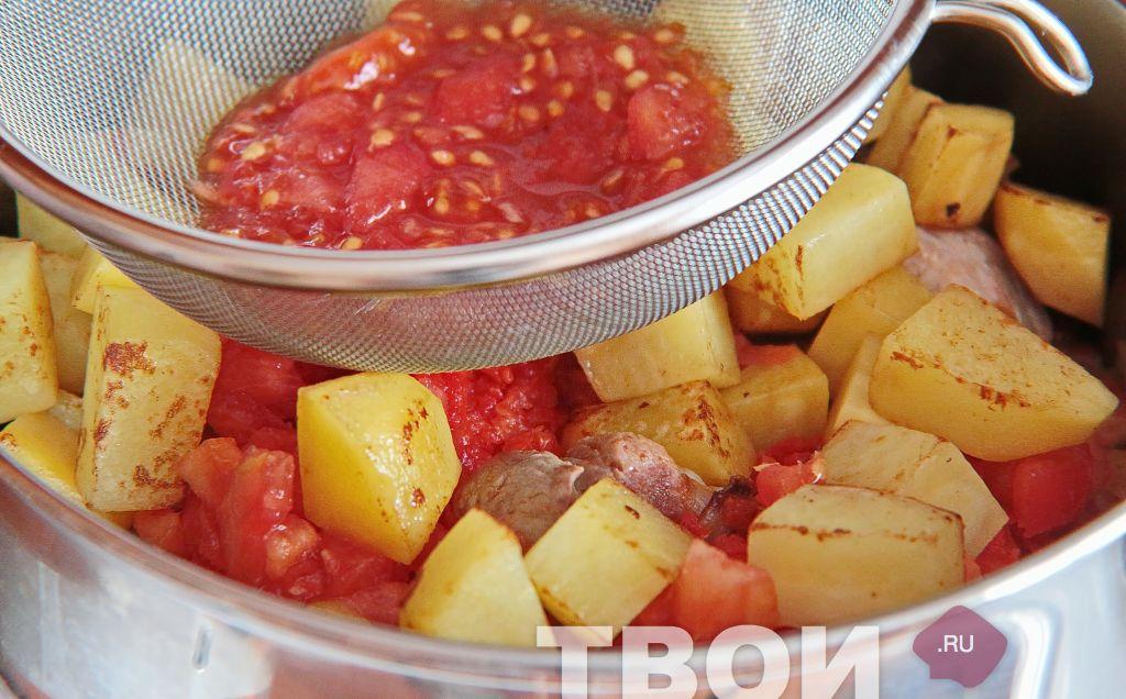 Рецепт венгерского гуляша с пошаговым
