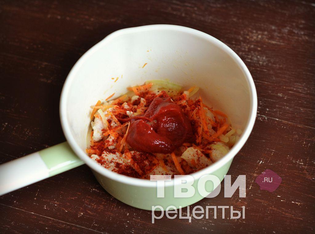 Приготовить подливу с мясом без томатной пасты