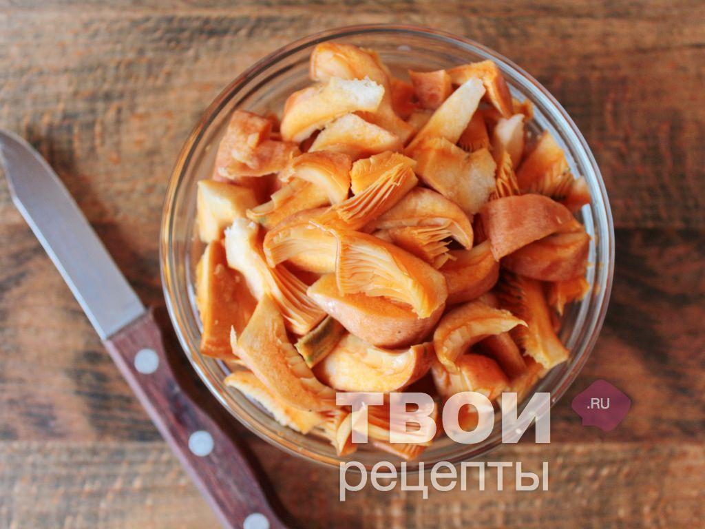Рыжики жареные рецепт с фото
