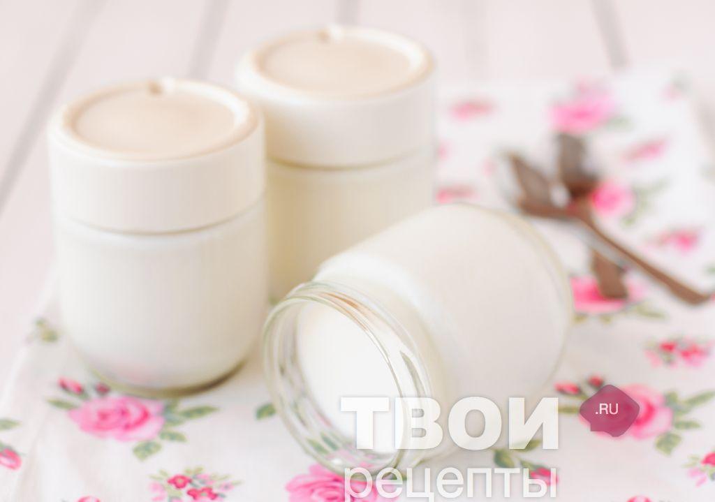 йогурт в мультиварке рецепт с кефиром