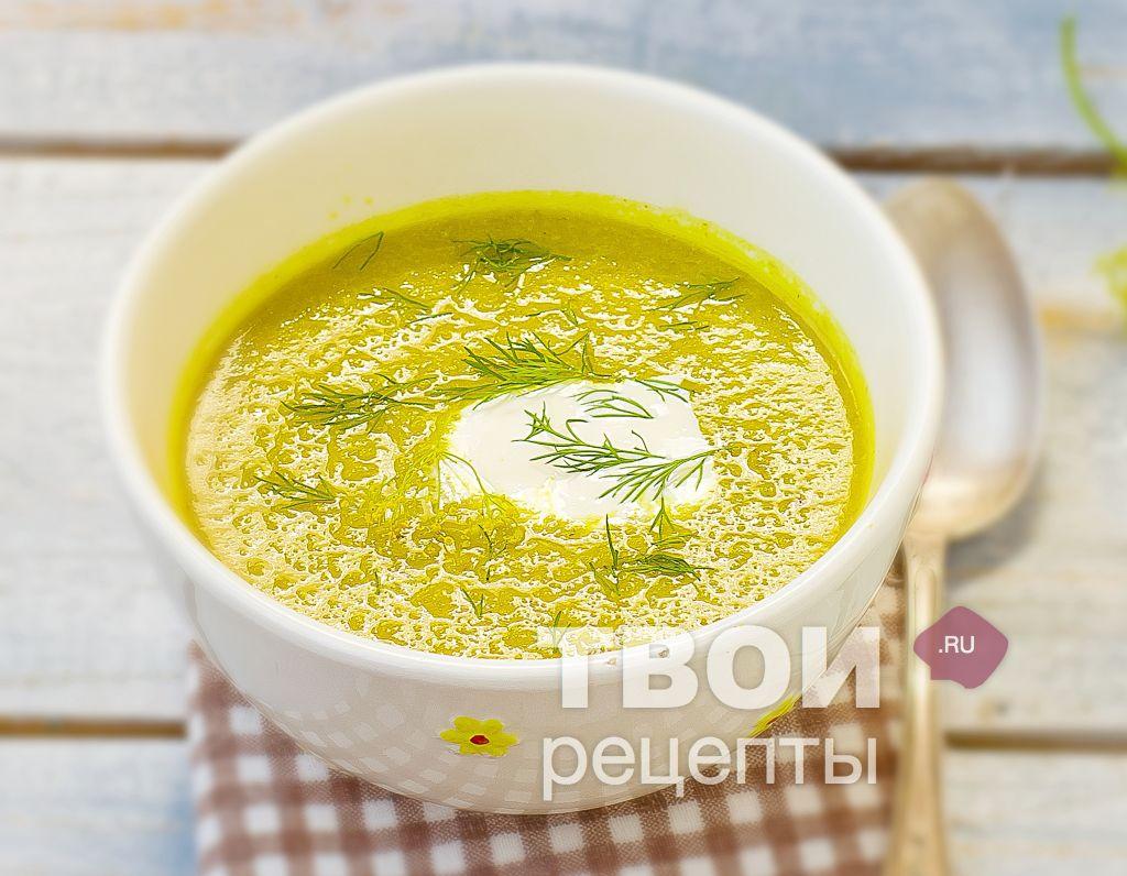 Суп из кабачков рецепт с пошагово