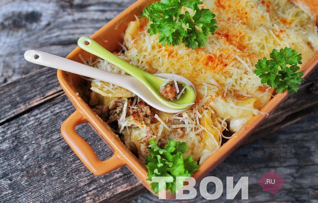 Каннеллони - вкусный рецепт с пошаговым фото 31