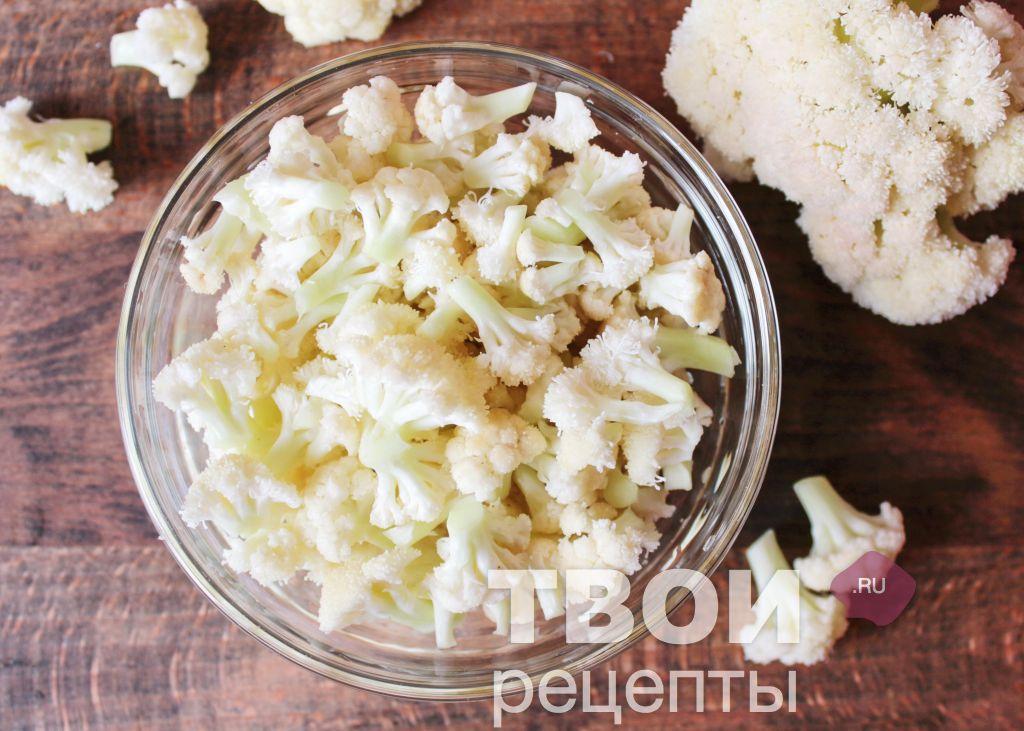 Салат из капусты горячей заливки