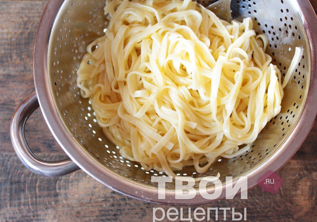 Рецепты пасты с пошагово карбонара