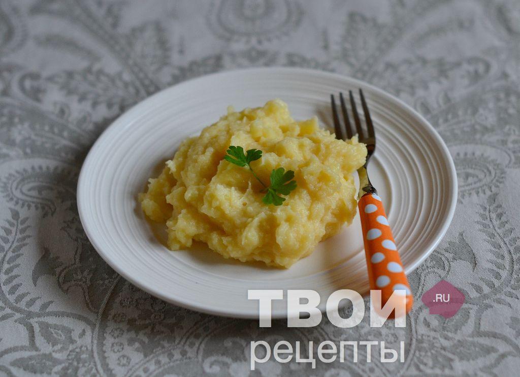 Картофельное пюре в мультиварке редмонд рецепт с фото пошагово