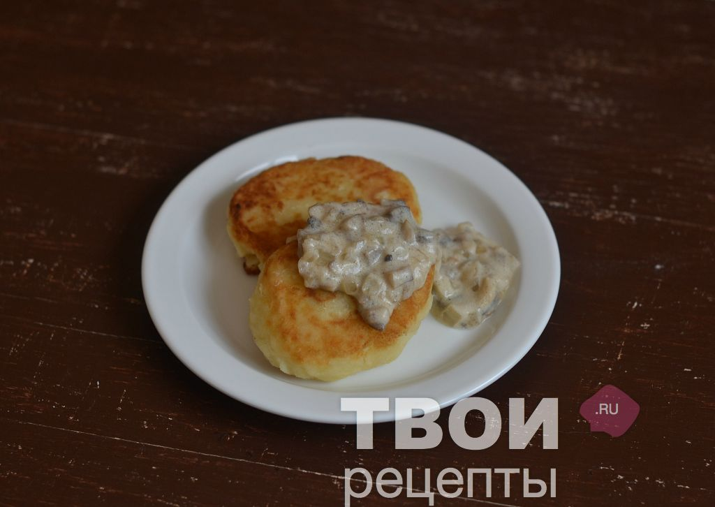 Грибы с подливкой рецепт с пошагово