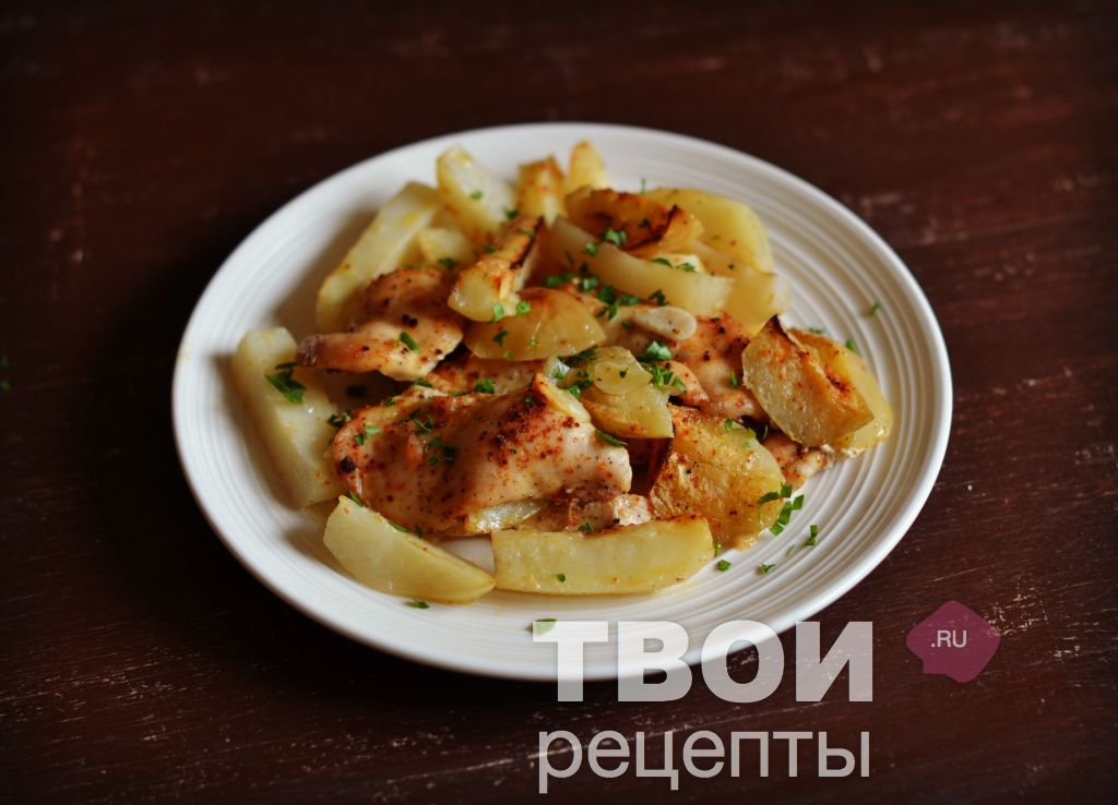 картошка и филе курицы рецепт в мультиварке
