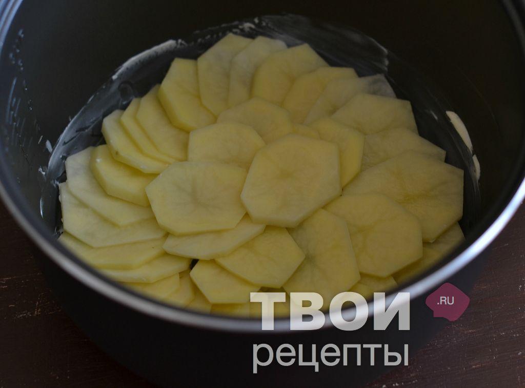 вкусный фото рецепт из картошки и мяса в мультиварке