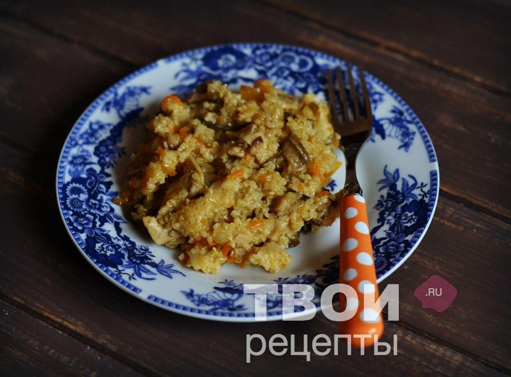 каша рисовая в тыкве в духовке рецепт