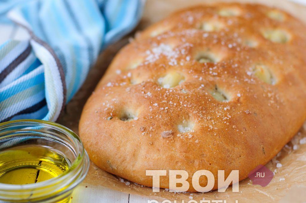 рецепт хлеб с чесноком в духовке рецепт с фото