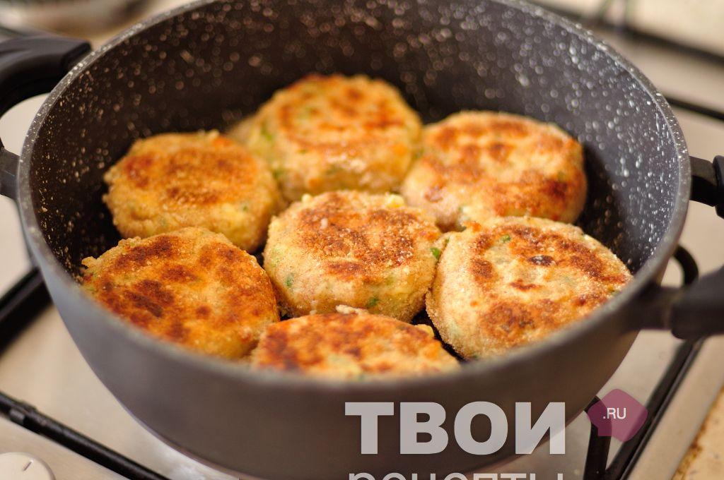 Фото и пошаговый рецепт картофельных котлет