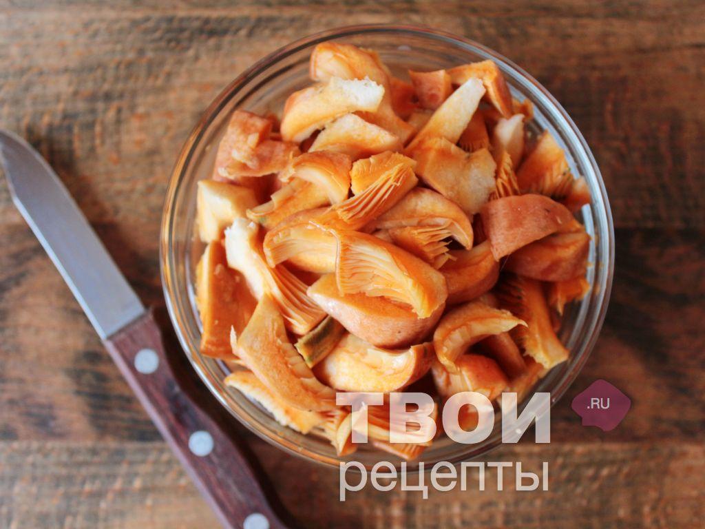 Рыжики рецепт с пошагово