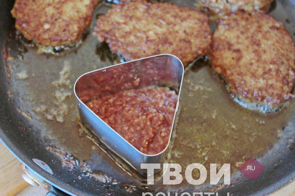 котлеты из печенки говяжьей пошаговый рецепт с фото
