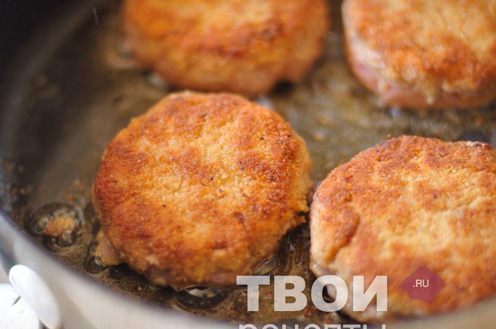 Котлеты из фарша рецепт с пошаговым фото на сковороде с яйцом
