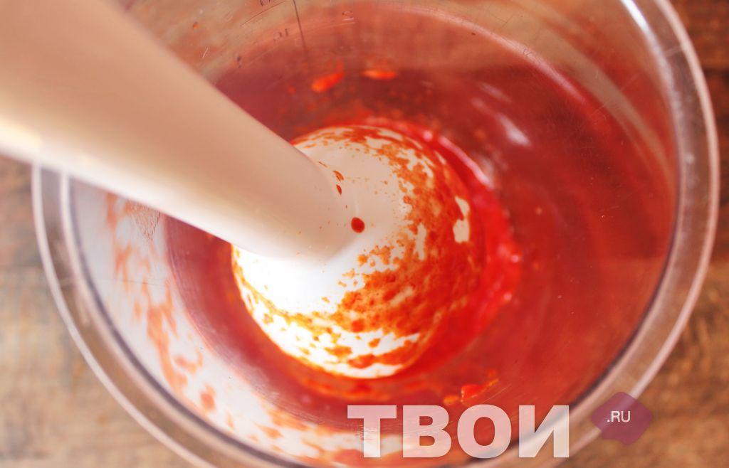 Пошагово соус красный основной с