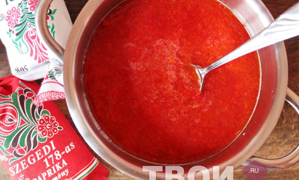 Соусы пошаговые с рецептами