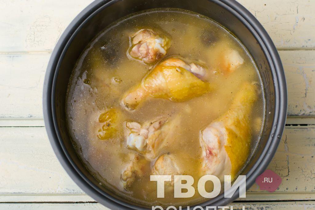 Плов из курицы рецепт пошагово в мультиварке