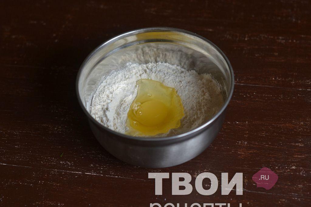 Рецепт пельменного теста с яйцом