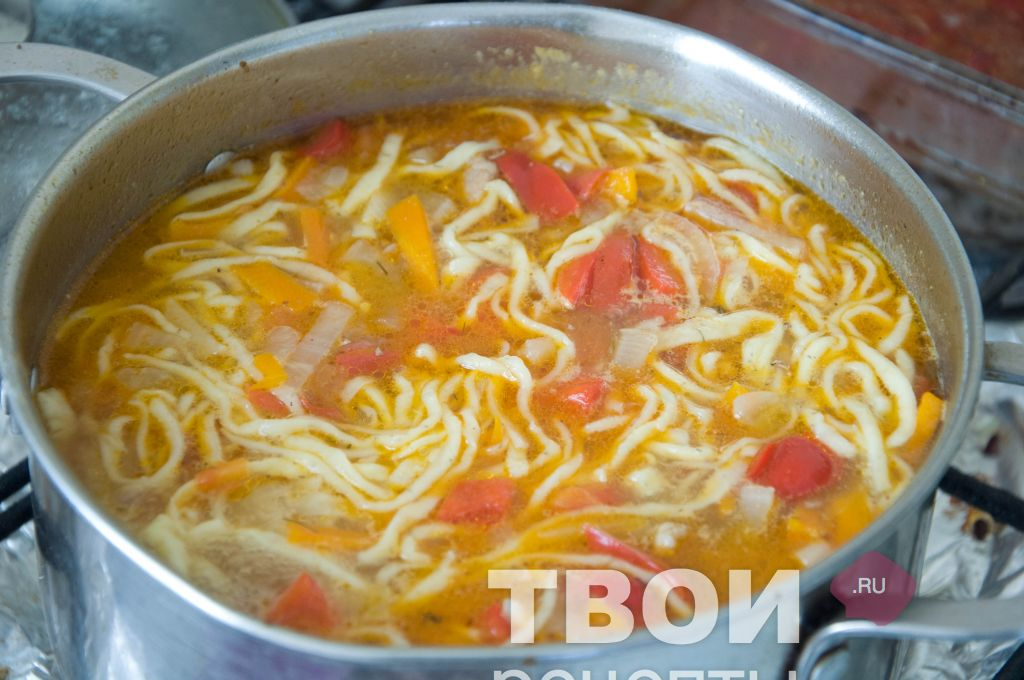 Лагман узбекский рецепт пошагово