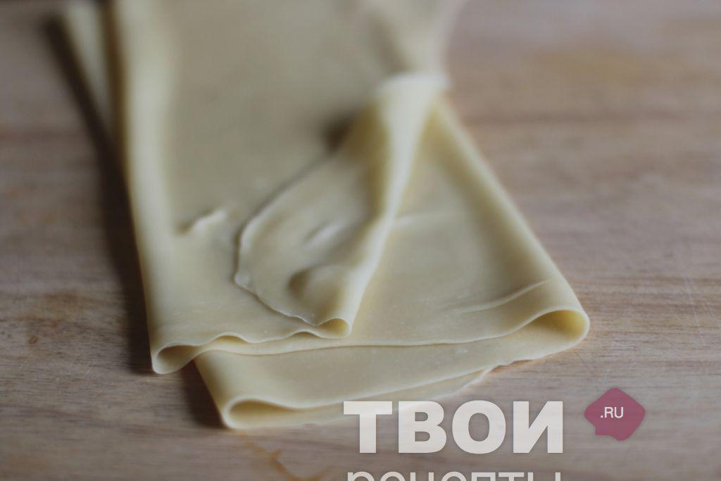 Тесто для домашней лапши пошаговый рецепт
