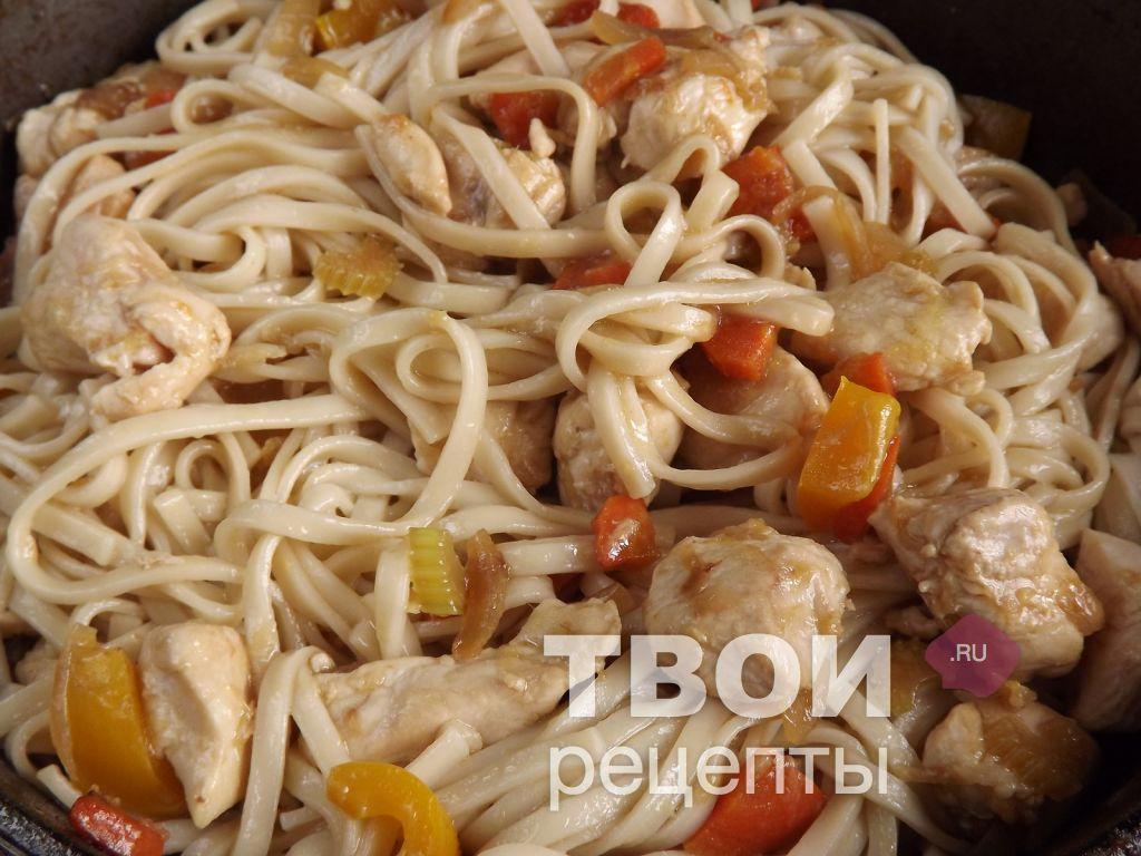 Лапша удон с курицей и овощами ...: tvoirecepty.ru/recept/lapsha-udon-s-kuritsei-i-ovoshchami