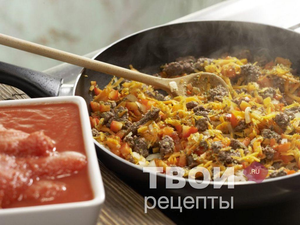 рецепт лазанья с курицей с томатной пастой