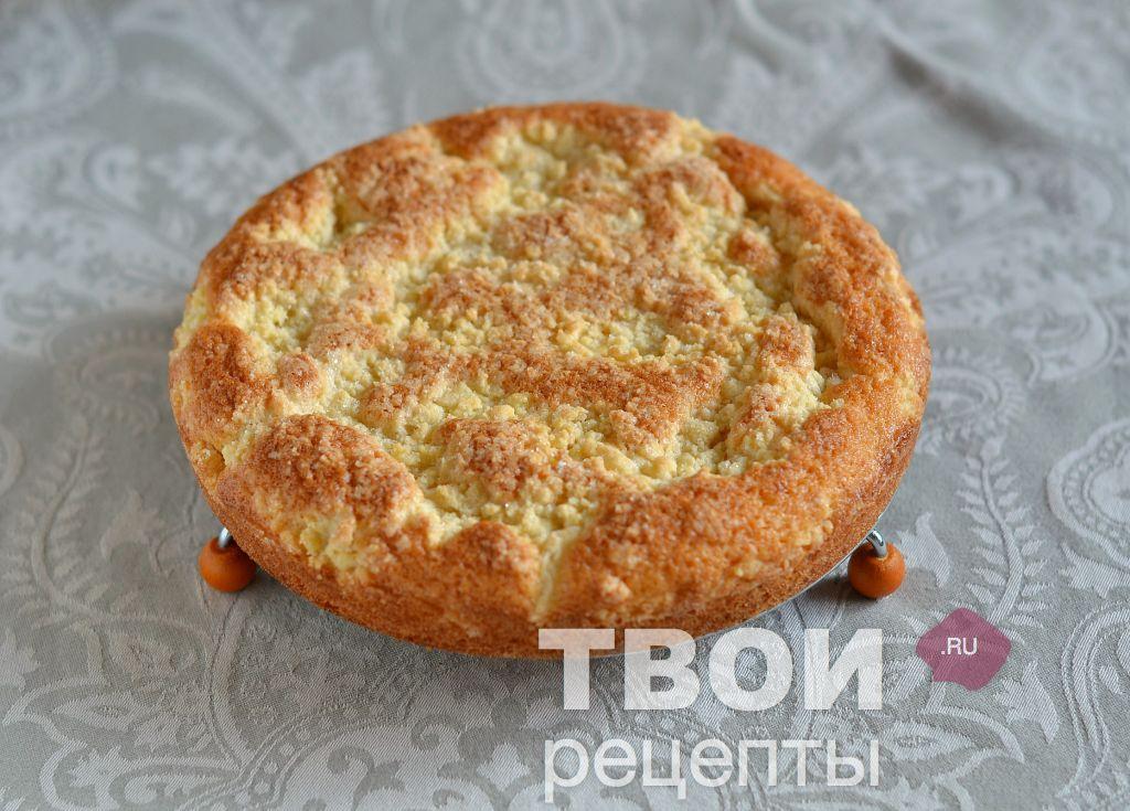 Лимонный пирог с пошаговым