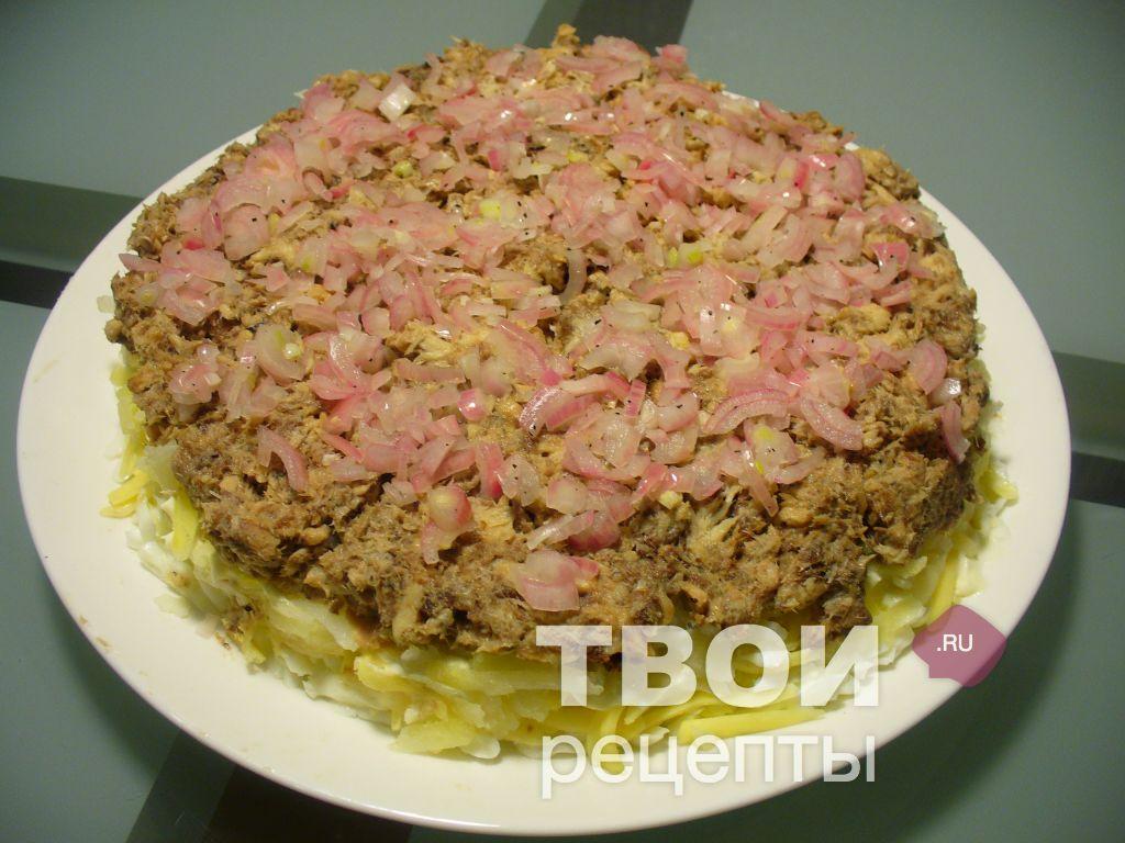 Пирог мимоза рецепт с фото