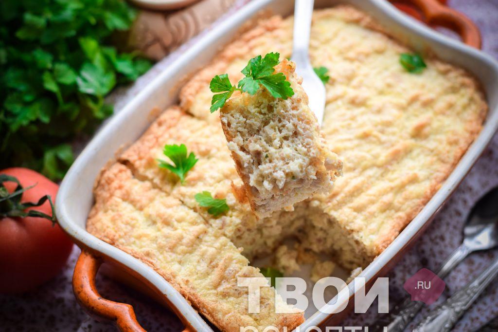 суфле мясное рецепт с фото