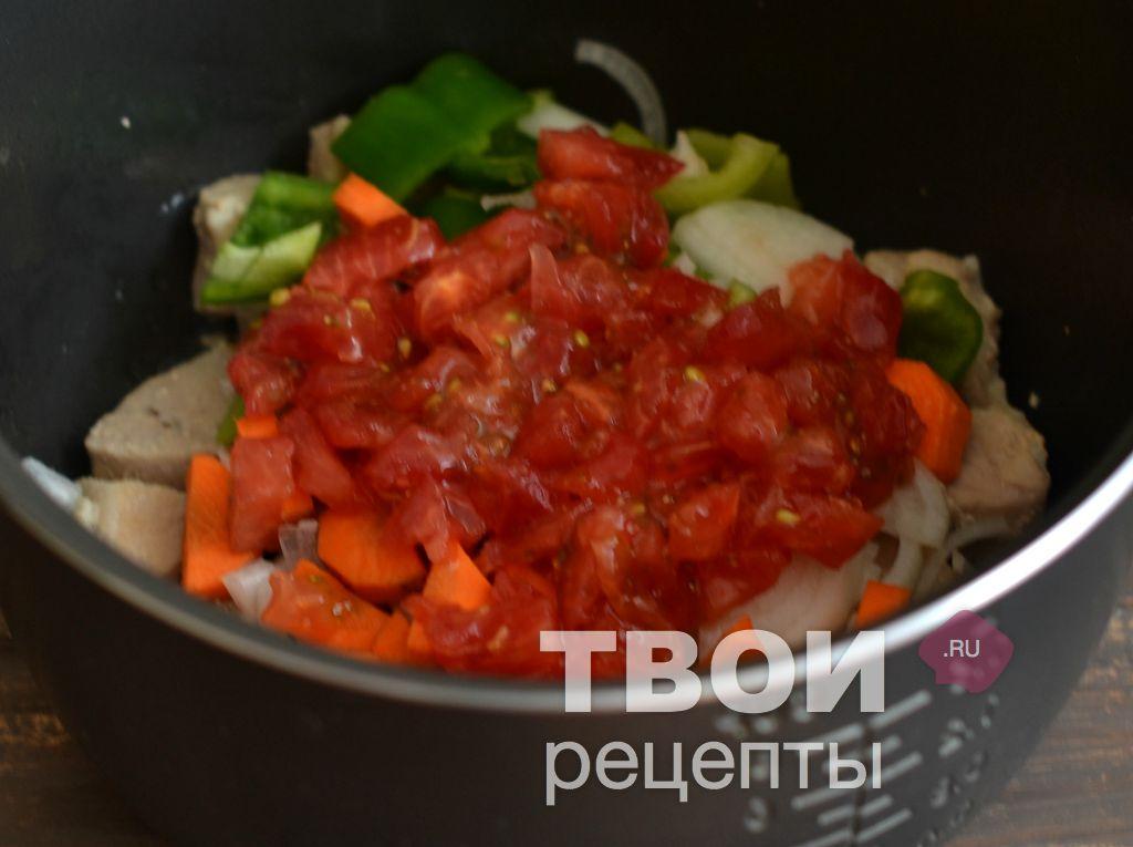 мясо с овощами мультиварке рецепт с фото