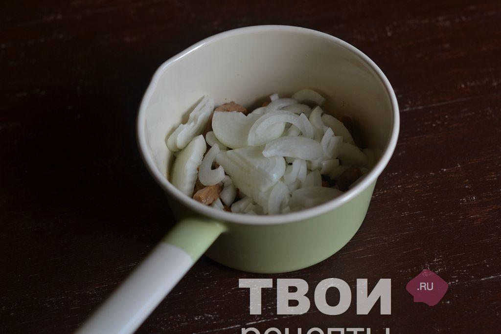 мясо в белом соусе рецепт фото