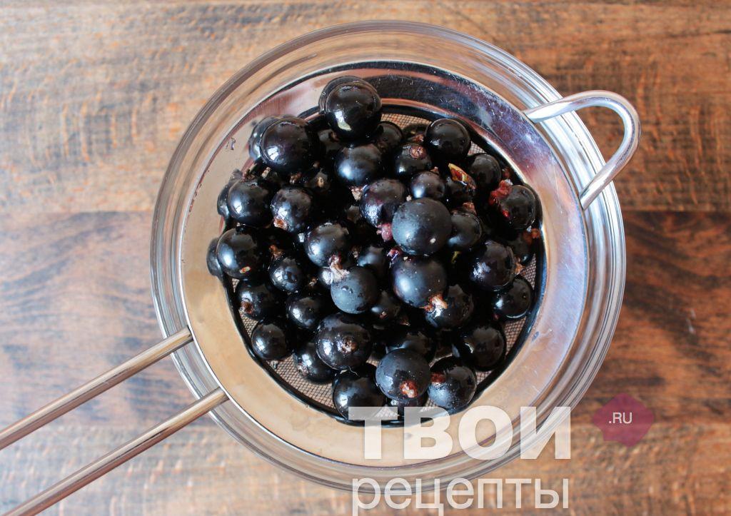 Рецепт наливки с черной смородины