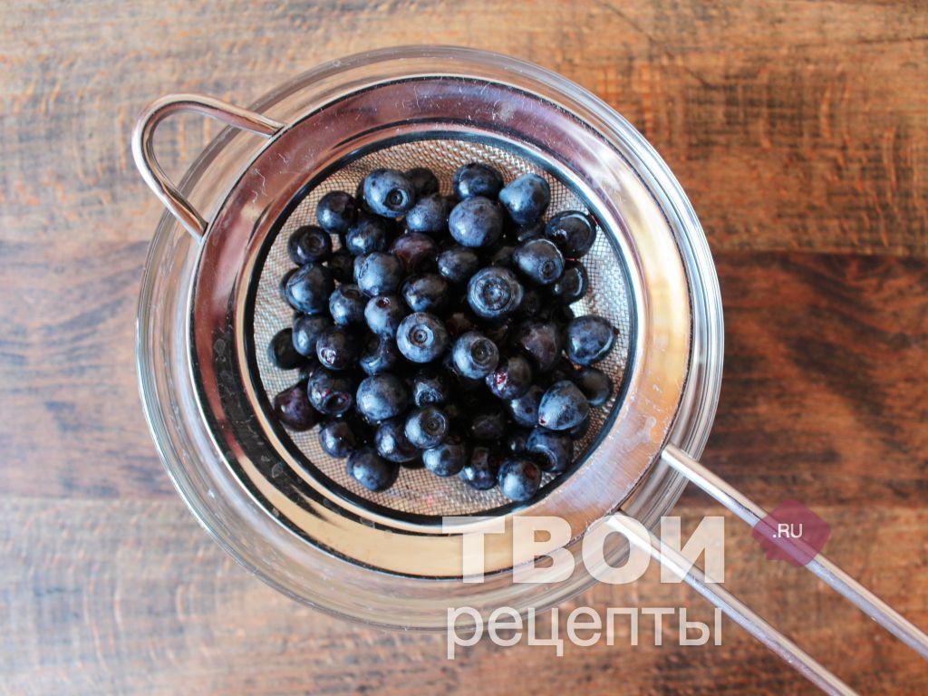 Рецепт настойки из черники