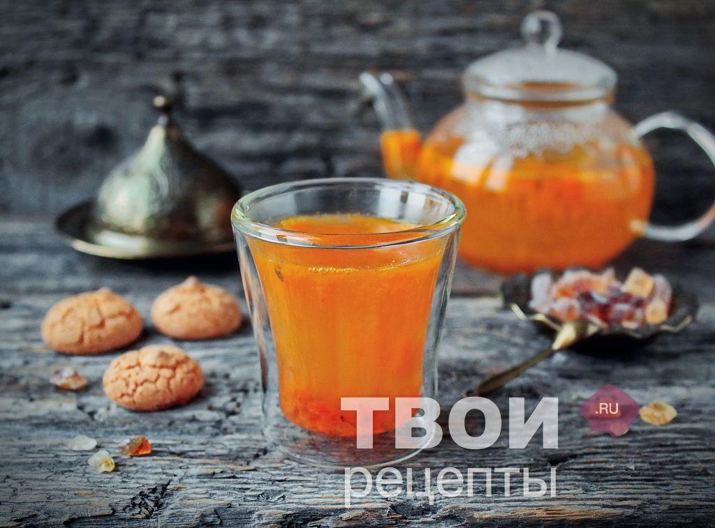 Как приготовит чай из облепихи
