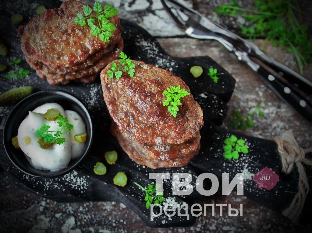 Печеночные оладьи из свиной печени рецепт пошагово в