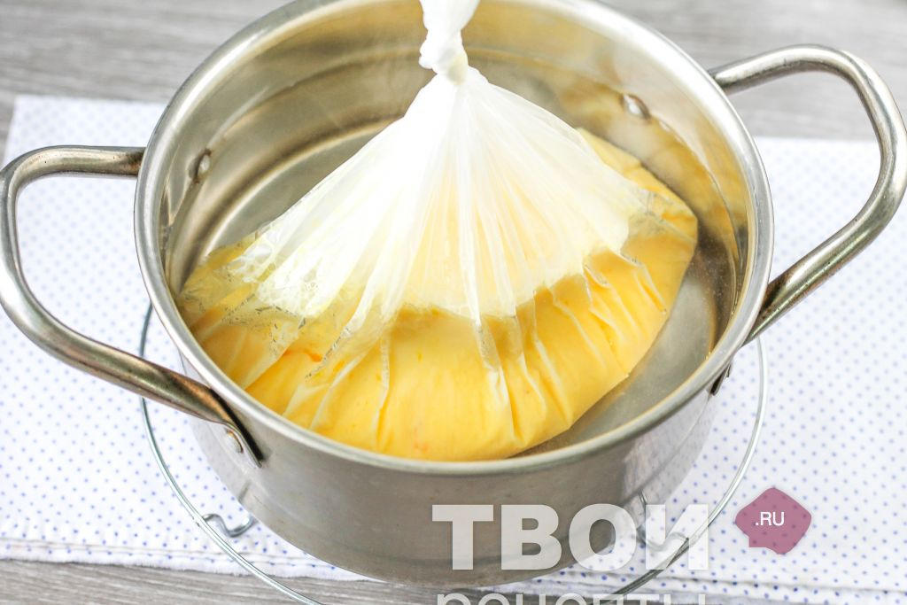 Как варить омлет в пакете