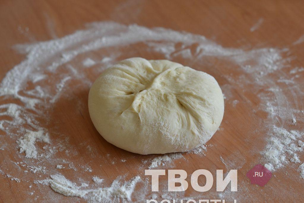 Тесто на осетинские пироги с пошаговым