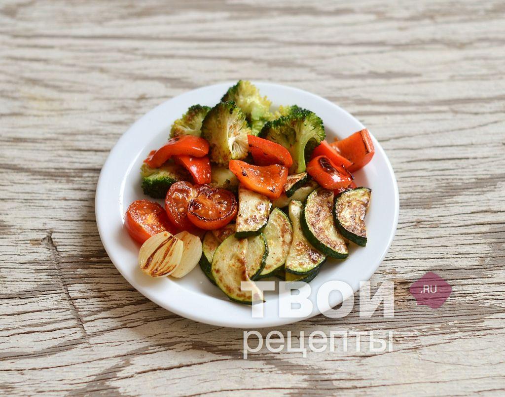 Паста с овощами рецепт с пошагово