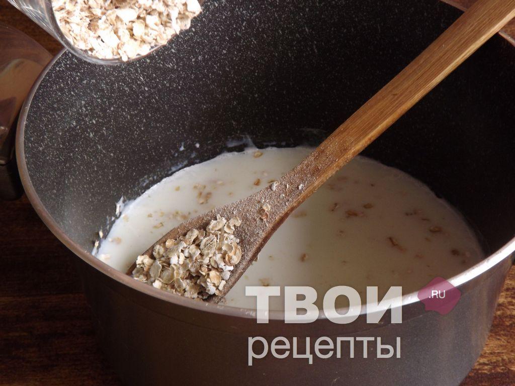 Геркулесовая каша на молоке рецепт пошагово в кастрюле