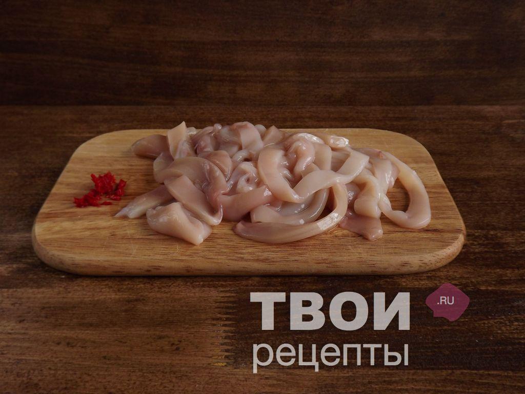 Филе кальмар рецепт с пошагово