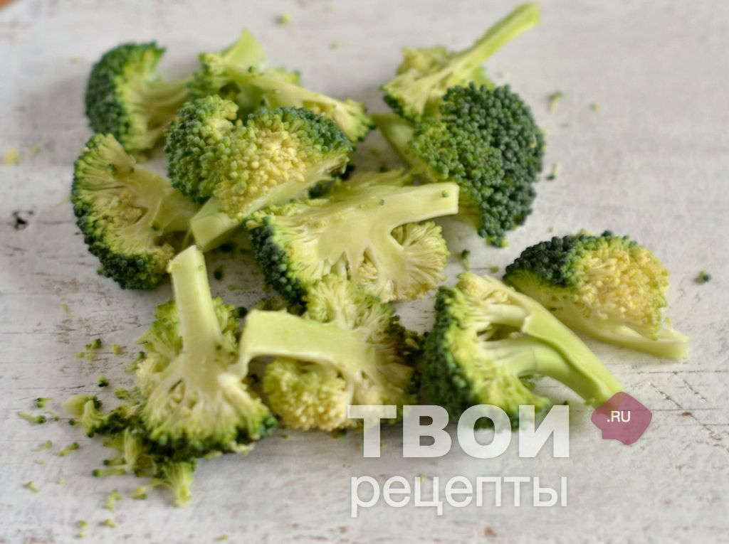 Рецепты с брокколи пошаговое