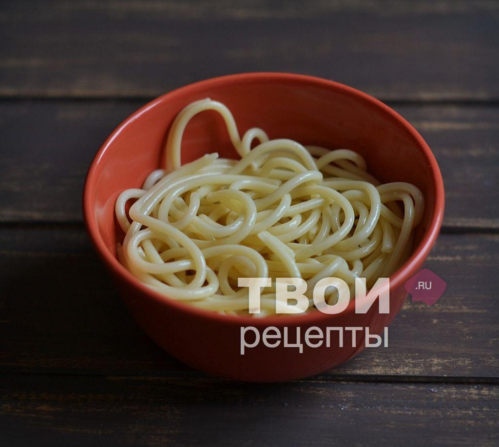 Паста с сырным соусом рецепт в домашних