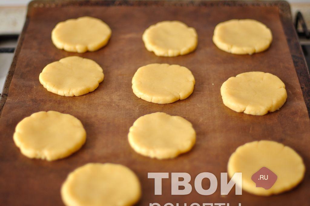 Вкусное печенье с вареньем рецепт с фото