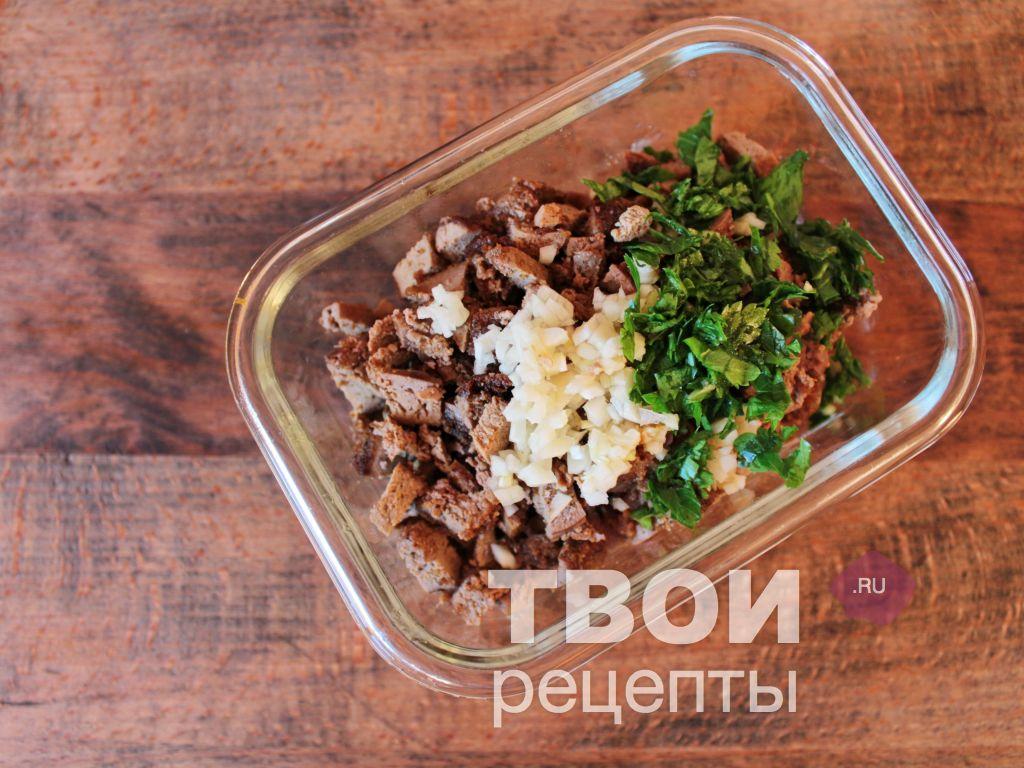 рецепт салата печенью фото пошагово