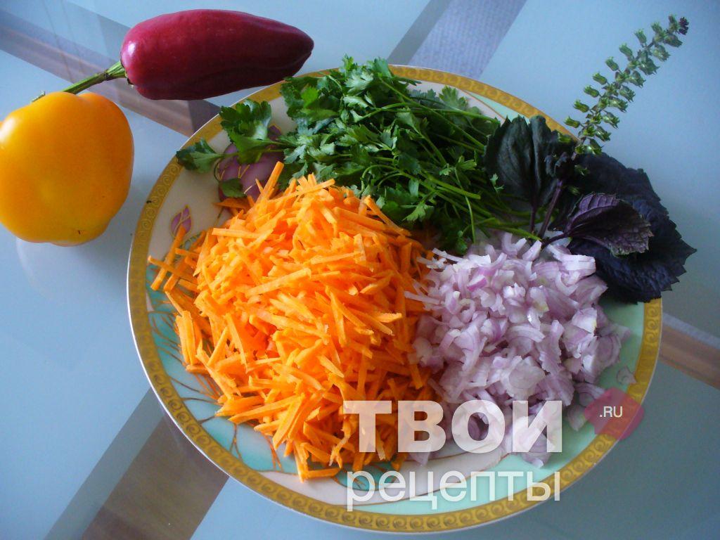 Перец фаршированный морковкой рецепт