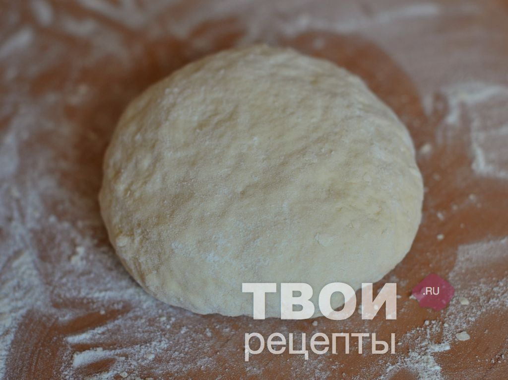 Тесто для пирога с картошкой без яиц