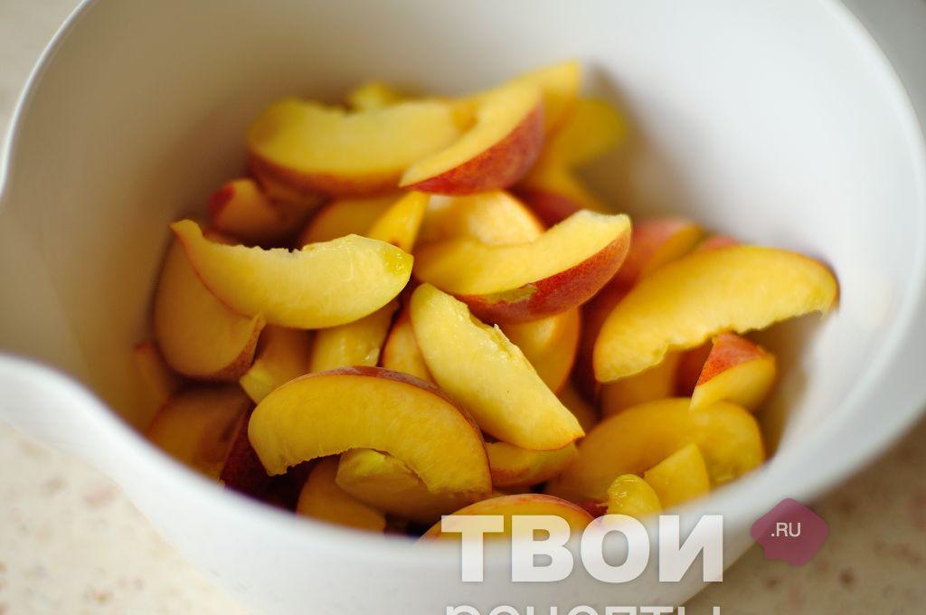 персики запеченные в духовке рецепт