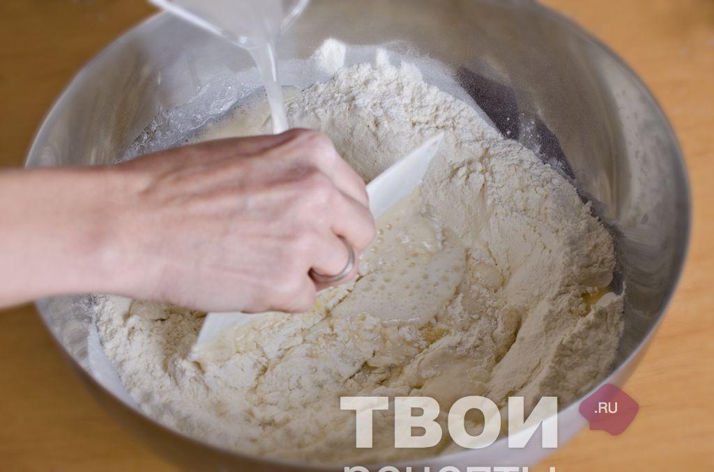 Дрожжевое тесто рецепт на воде пошагово