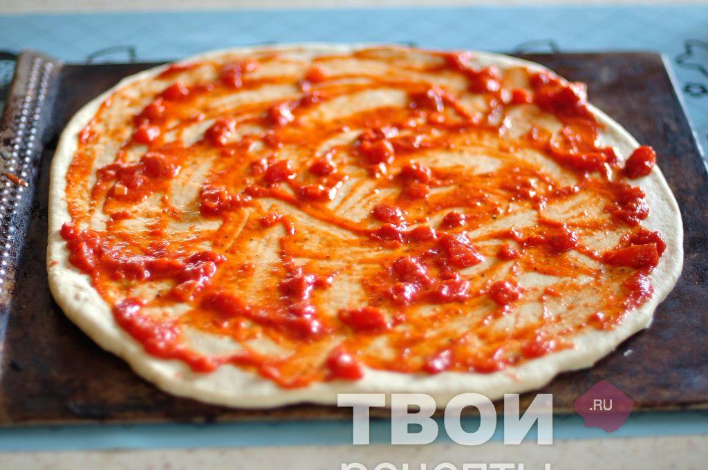 Гавайская пиццаы с фото пошагово
